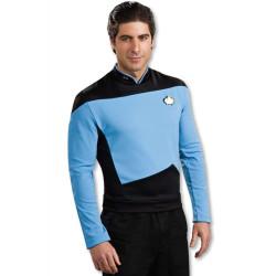 Fantasia Adulto Star Trek Azul nova Geração