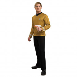 Fantasia Adulto Star Trek Dourada Clássica