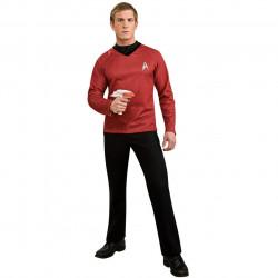Fantasia Adulto Star Trek Vermelha Clássica