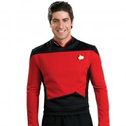 Fantasia Adulto Star Trek Vermelha Nova Geração