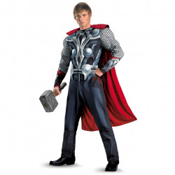 Fantasia Adulto Thor Luxo Os Vingadores