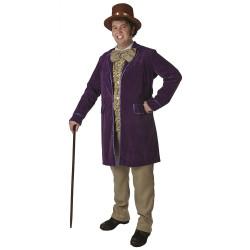 Fantasia Adulto Willy Wonka Elite