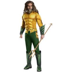 Fantasia Aquaman Luxo Adulto