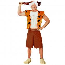 Fantasia Bam-Bam dos Flintstones Adulto Luxo