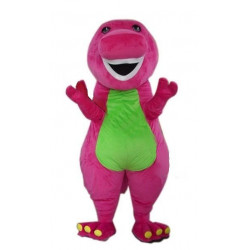 Fantasia Barney Adulto Mascote