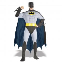 Fantasia Batman Adulto Luxo com Músculos