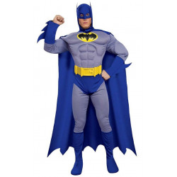 Fantasia Batman Adulto Luxo Nova