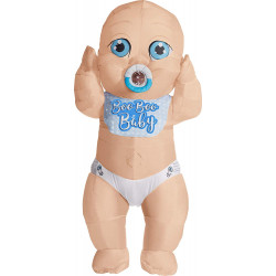 Fantasia Bebê Inflável Adulto Luxo