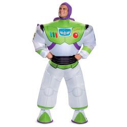 Fantasia Buzz Lightyear Adulto Luxo Inflável