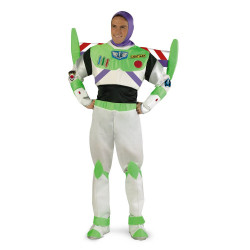 Fantasia Buzz Lightyear Adulto Super Luxo
