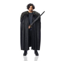 Fantasia Capa e Estola Jon Snow Game of Thrones Luxo
