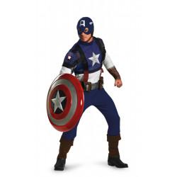 Fantasia Capitão América Adulto Prestige