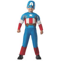 Fantasia Capitão América Bebê