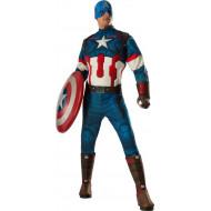 Fantasia Capitão América Os Vingadores 2 Era de Ultron Adulto
