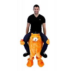 Fantasia de Montar Urso Me Carregando Adulto