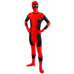 Fantasia Deadpool Spandex Adulto