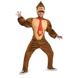 Fantasia Donkey Kong Adulto Super Mario Luxo