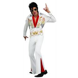 Fantasia Elvis Presley Adulto Luxo
