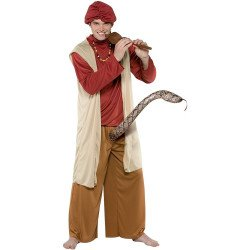 Fantasia Encantador de Serpente Sexy Adulto