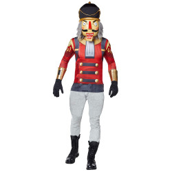 Fantasia Fortnite Skin Crackshot Aduto Luxo