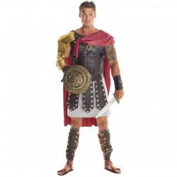 Fantasia Gladiador Grego Adulto Luxo