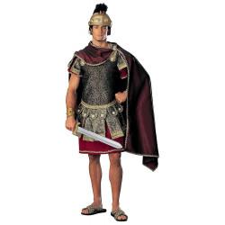 Fantasia Gladiador Romano Marco Antônio Adulto Elite
