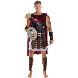 Fantasia Gladiador Romano Marco Antônio Adulto Luxo