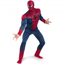 Fantasia Homem Aranha Adulto com Músculos