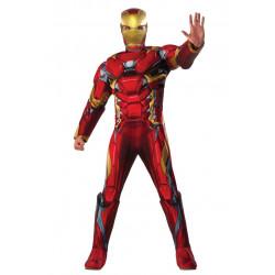 Fantasia Homem de Ferro Guerra Civil Adulto Luxo