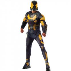 Fantasia Homem Formiga Amarela Adulto