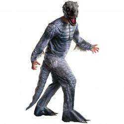 Fantasia Jurassic Park O Mundo dos Dinossauros Indomirus TRex Adulto