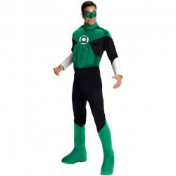 Fantasia Lanterna Verde Adulto Luxo com Músculos