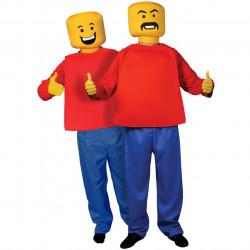 Fantasia Lego Blocos