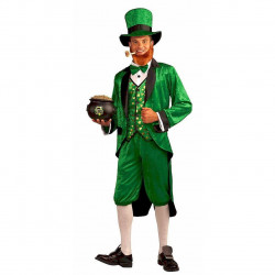 Fantasia Leprechaun Adulto Luxo
