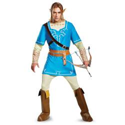 Fantasia Link Lenda da Zelda Sopro da Natureza Adulto Luxo