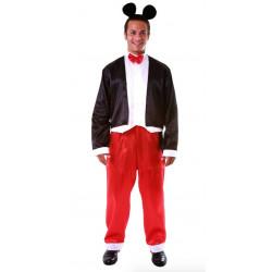 Fantasia Mickey Mouse Luxo Adulto