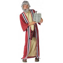 Fantasia Moisés Adulto com Tábua 10 mandamentos