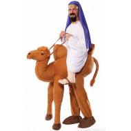 Fantasia Montar Inflável Andando de Camelo Adulto