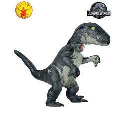 Fantasia Mundo Jurássico Reino Caído Velociraptor Adulto Inflável