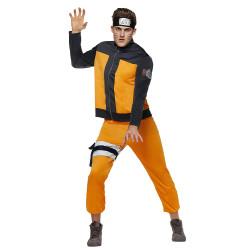Fantasia Naruto Anime Uzumaki Luxo Adulto