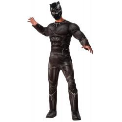 Fantasia Pantera Negra Guerra Infinita Adulto Clássica