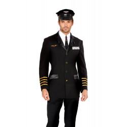 Fantasia Piloto de Avião Adulto