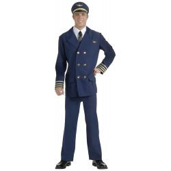Fantasia Piloto de Avião Adulto Luxo