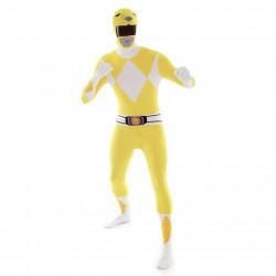 Fantasia Power Rangers Amarelo Luxo