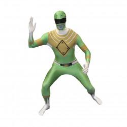 Fantasia Power Rangers Verde Luxo
