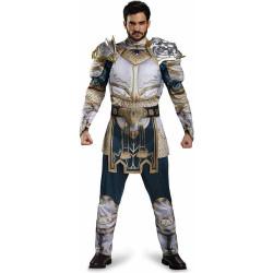 Fantasia Rei Llane Wrynn Warcraft Luxo Adulto