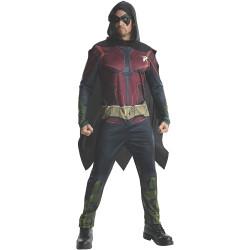 Fantasia Robin Adulto Arkham City Clássica