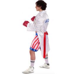 Fantasia Rocky Balboa Sylvester Stallone Boxer Adulto