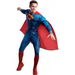 Fantasia Super Homem Adulto Homem de Aço