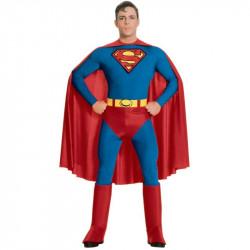 Fantasia SuperMan Super Homem Adulto Masculino